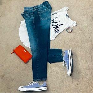 Torrid Ankle Skinny denim blue jeans